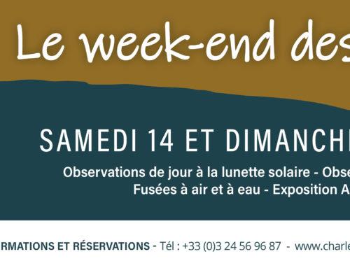 Weekend des étoiles, 14 et 15 août 2021